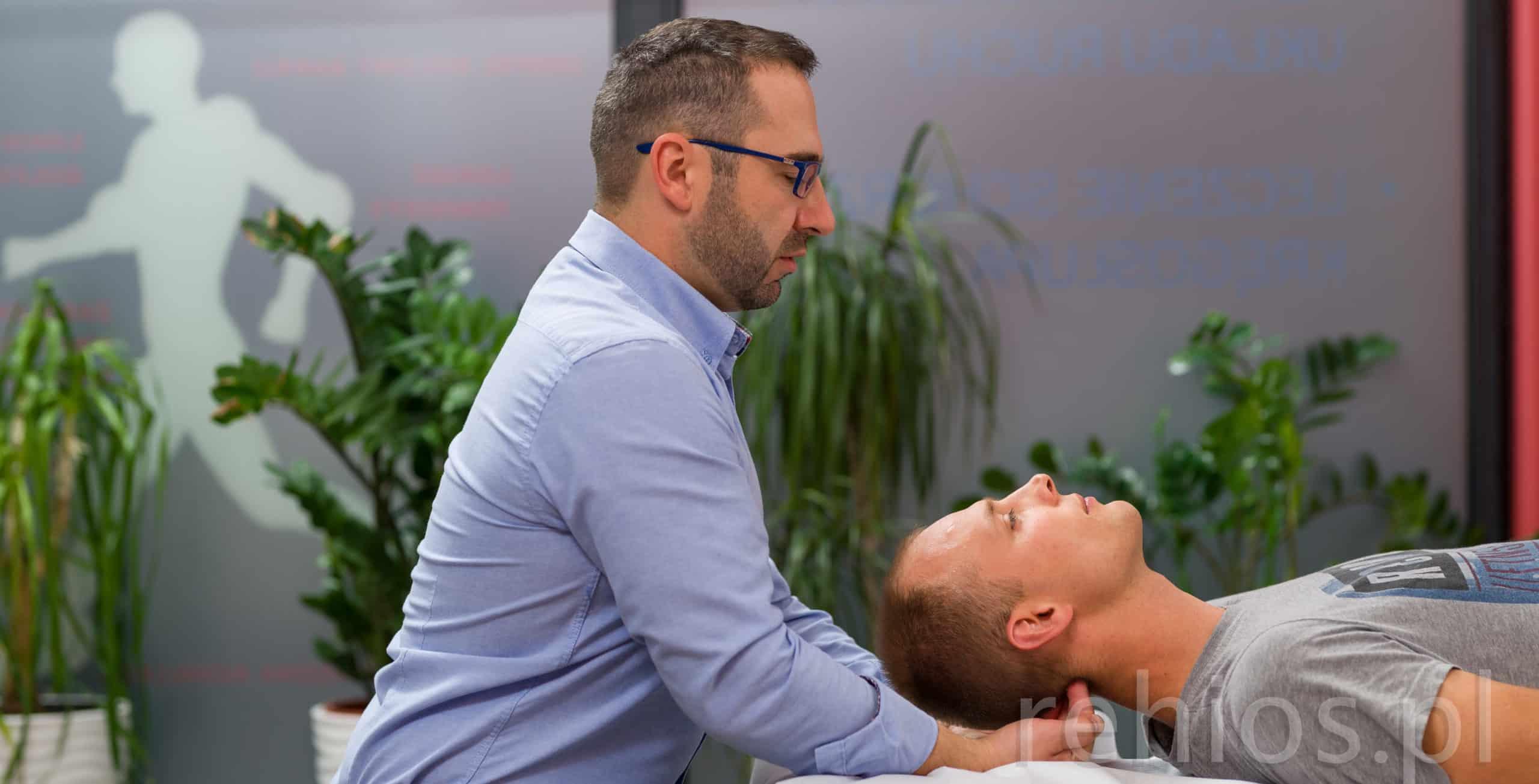 Ból głowy - leczenie osteopatyczne